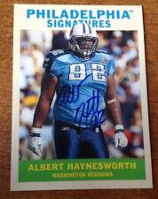 2009 Philadelphia SIGNATURES #PSAH Albert Haynesworth Auto