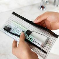 Travel Toothbrush Cosmetic Bags Waterproof Transparent Make Up Storage Pouch