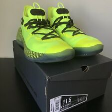 Under Armour Curry 6 Coy Fish Yellow Basketball Shoes Size 11.5