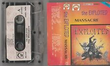 THE EXPLOITED - MASSACRE..POLISH CASSETTE. MG RECORDS. 1992