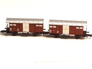 Z-scale 41.331.02 Freudenreich FR boxcar set class Gms - K3 SWISS SBB
