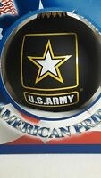 American Pride U.S. Army Glass Christmas Ornament NEW This We'll Defend