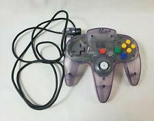 Nintendo N64 Atomic Purple Controller Oem - Tested & Working - Good Stick