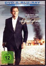 James Bond 007: EIN QUANTUM TROST (Daniel Craig) Blu-ray Disc + DVD NEU+OVP