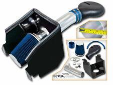 Cold Heat Shield Air Intake + BLUE Filter for 94-01 Ram 1500 Pickup 5.2L 5.9L V8