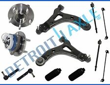 New Complete 12pc Front Lower Control Arm & Ball Joint Suspension Kit 2005 w/ABS