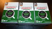 (3) x 12ct KRISPY KREME® CLASSIC DECAF Medium Roast Keurig K-Cup = 36 Pods TOTAL