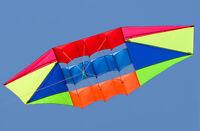 NEW 2.5m 3D Radar Power Stunt kite single line novetly Toys outdoor fun Sports