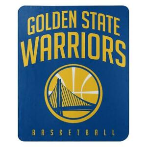 Golden State Warriors 50x60 Fleece Lay Up Design Blanket [NEW] NBA Throw Plush