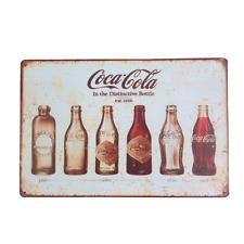 Coca Cola Tin Sign - Wall Home Decor - Shabby Chic Retro Ideal Pubs Man Cave