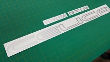 Toyota Celica 2.0 GT-i 16 ST162 rear hatch decal Stickers OEM Clear outline