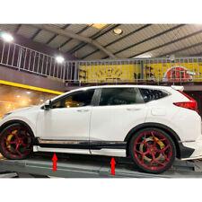 Painted For Honda CRV CR-V 5th Hatchback M Style Side Skirt Body Kits 6PCS