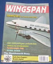 WINGSPAN MAGAZINE MARCH 1992 - DAKOTAS - AT WORK AND PLAY