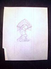 Garden of Eden Tree Snake Original Pencil Sketch By C. Schattauer Kelm