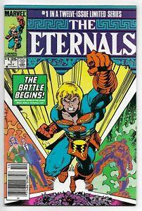 Eternals #1 Marvel Comics 1985 F+ Limited Series