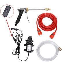 12V 100W 160PSI High Pressure Car Washer Cleaner Water Wash Pump Sprayer Tool  X