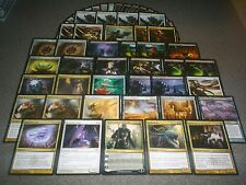 MTG Magic SORIN, LORD OF INNISTRAD DECK Enslave Requiem Angel 2 sided Cards