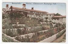 Home Claremont Berkeley California 1910c postcard