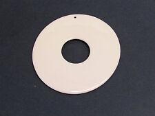 PORCELLANA - PENDENTE DUE CERCHI - Dint3+Dext9cm