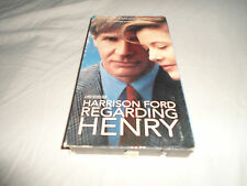 Tested ! *Regarding Henry* VHS Harrison Ford **Original 1st Edition** 1992