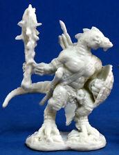1 x HOMME LEZARD - BONES REAPER figurine miniature jdr rpg d&d lizardman 77155