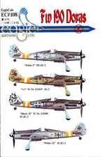 EagleCals Decals 1/72 FOCKE WULF Fw-190D DORA Fighter JG2