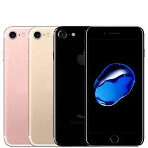 "Unlocked 4.7"" Original Apple iPhone 7  Smartphone Touch ID 32/128/256GB AllColor"