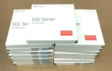SEALED Microsoft SQL Server 2019 Standard Edition (10 client) 228-11548 NEW ✅❤️️