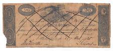 1820 Bank of the United States, Charleston - Twenty Dollar Obsolete Note No.1444
