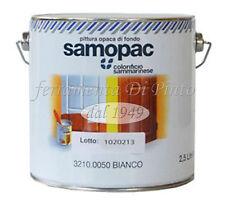 Cémentite Lt 2,5 peinture blanc opaque bas bois apprêt primer polonais Samo