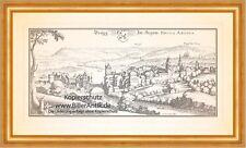 Brugg Aare Aargau Schweiz Festung Altenburg Bruggerberg Kirche Merian 0957