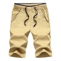 Summer Men Sport Shorts Pants Gym Trousers Jogging Trousers Cotton Shorts M-5XL