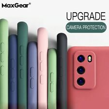 Huawei Mate 20 Pro/P20/30 /P40 Pro Ring Stand Case Shockproof Liquid Silicone