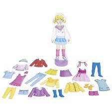 Bambole letto roba Bambole Biancheria da letto 3 pezzi Strisce Rosa Goki 51589