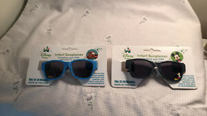 2 Disney Store Authentic Baby Sunglasses 100% UV Protection NEW FREE SHIP