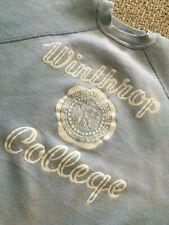 vintage 50s WINTHROP COLLEGE cotton SWEATSHIRT medium