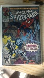 Marvel Amazing Spiderman # 359 Feb 1992  1st Carnage Intro. Marvel Comics