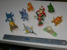 Collection of 10 Digimon Mini Figure Bundle