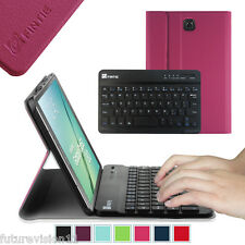 New Samsung Galaxy Tab S2 9.7 / 8.0 Bluetooth Keyboard Leather Case Slim Cover