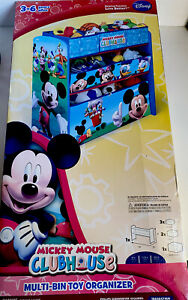 Delta Children Mickey Mouse Clubhouse Multi Bin, Multi-Bin Toy Organizer.