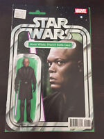 Star Wars Jedi Mace Windu 1 Christopher Action Figure Variant 1/3000 Comic 2017