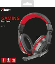 TRUST ZIVA CUFFIE GAMING PER PS4 XBOX ONE PC SWITCH MICFOFONO CUFFIA GIOCO NUOVA