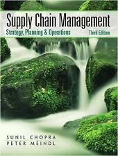 Supply Chain Management by Sunil Chopra, Peter Meindl