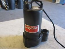 DAYTON SUBMERSIBLE PUMP 1/2HP MODEL:4HU72 #511802H RPM:3450 PHASE 1 NEW IN BOX
