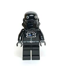 Lego TIE Fighter Pilot 4479 7146 Brown Head Star Wars Minifigure