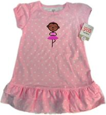 Carter's Just One You Baby Toddler Hearts Dancing Girl Sleepwear Nightgown, 3T