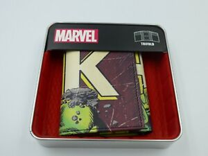 All New Marvel Comics The Incredible Hulk Trifold Wallet With Collector Tin