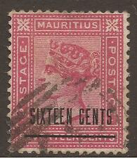 Used Single Victorian (1840-1901) Mauritian Stamps