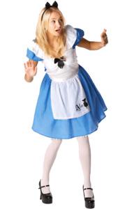 Official Disney Alice In Wonderland Costume Fairy Tale Book Day Fancy Dress