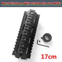 17cm Metal Fishbone Upgrade Material For JinMing Gen8 M4A1 Gel Ball Blaster Toy